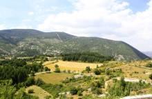 Section 4.1 Aurel - Monieux (St-Hubert) / Vaucluse long distance mountain bike trail