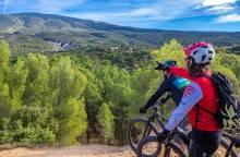 Bedoin - Les Baux Mountain Bike Trail