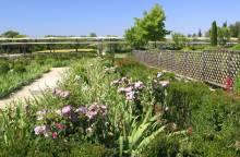 Der Römergarten in Caumont-sur-Durance