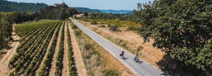 Itinéraire vélo : le Pays d'Aigues à vélo