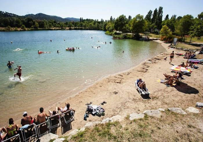 Plan d'Eau du Camping Val de Durance