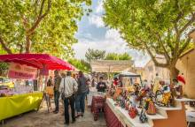 Bauernmarkt in Saint Martin de La Brasque