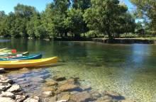 Descente en canoë sur la Sorgue avec Canoë Evasion