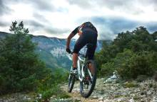 Vaucluse long distance mountain bike trail (...)