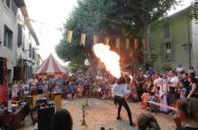Medieval Festival in Mornas