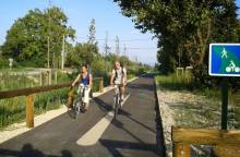 Bike path : Via Venaissia