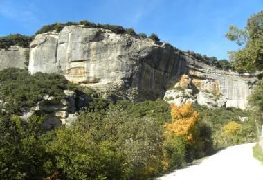 Site d'escalade - Buoux