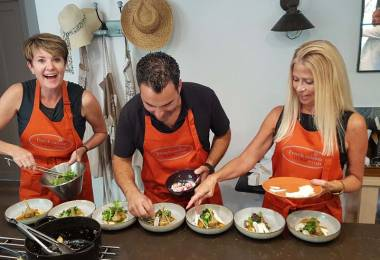 Cuisine de  chef avec Jean-Marc Villard