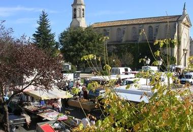 Marché de Morières-lès-Avignon