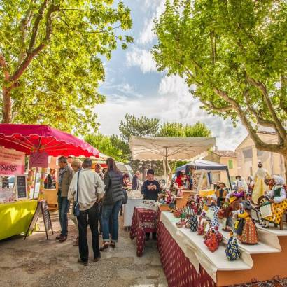 Farmers' Market of Saint Martin de La Brasque