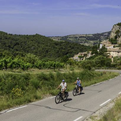 16 - In the foothills of the Dentelles de Montmirail