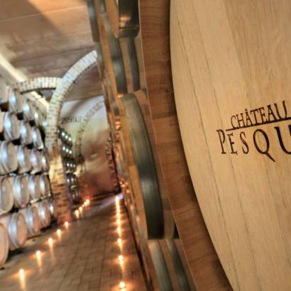 Guided visit of the cellars and tasting at Château Pesquié