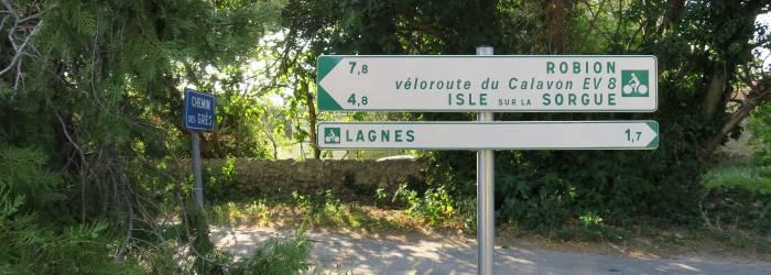 Liaison Isle-sur-la-Sorgue - Lagnes - Robion