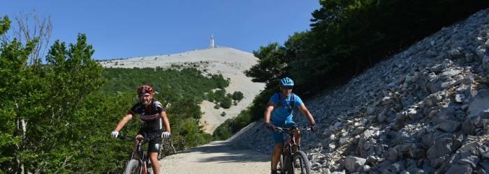 Tour du Mont-Ventoux en VTT