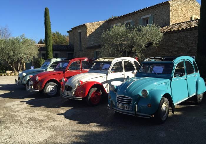 2cv en Provence Location