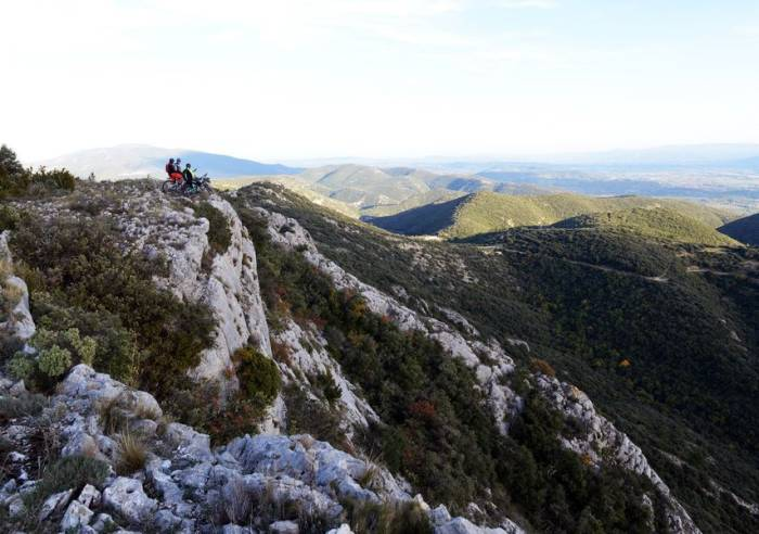 Long Distance Mountain Bike Trail Stage 9 From Lauris